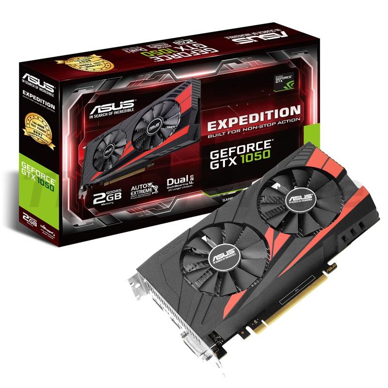 ASUS GeForce GTX 1050 Expedition, 2048MB GDDR5