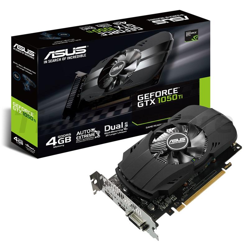 ASUS GeForce GTX 1050 Ti PH, 4096MB GDDR5