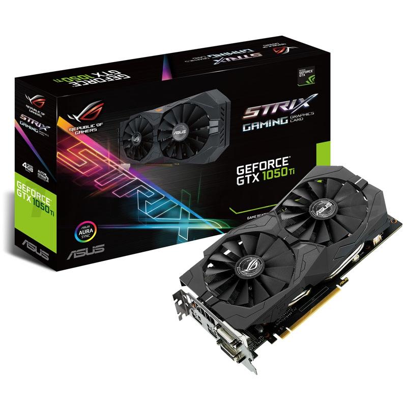 ASUS GeForce GTX 1050 Ti STRIX 4G, 4096MB GDDR5