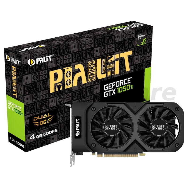 Palit GeForce GTX 1050 Ti Dual OC, 4096MB GDDR5