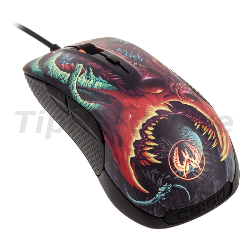 SteelSeries Rival 300 Gaming Mouse - CS:GO Hyper Beast Edition