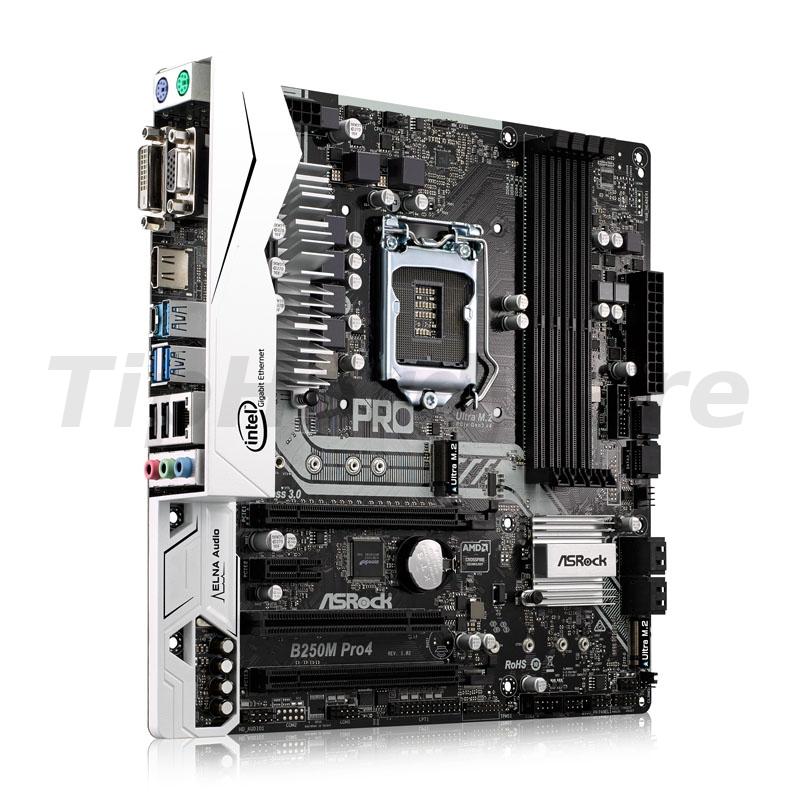 ASRock B250M Pro4, Intel B250