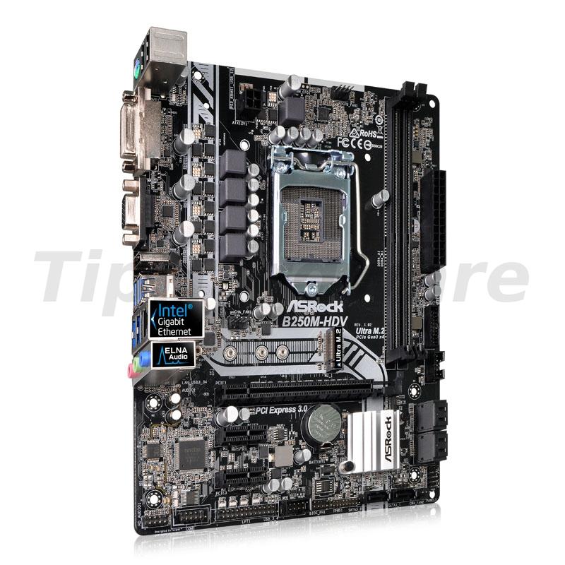 ASRock B250M-HDV, Intel B250