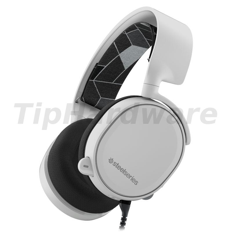 SteelSeries Arctis 3 - 7.1 Surround Gaming Headset - bílá