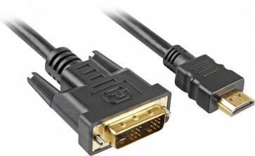 Sharkoon Kabel HDMI na DVI 3m