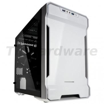 PHANTEKS Enthoo Evolv ITX Glass Mini-ITX Case - White [PH-ES215PTG_WT]