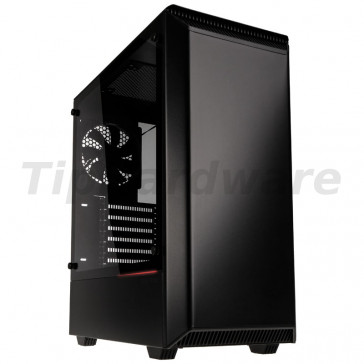 PHANTEKS Eclipse P300 Glass Midi Tower Case - Black [PH-EC300PTG_BK]