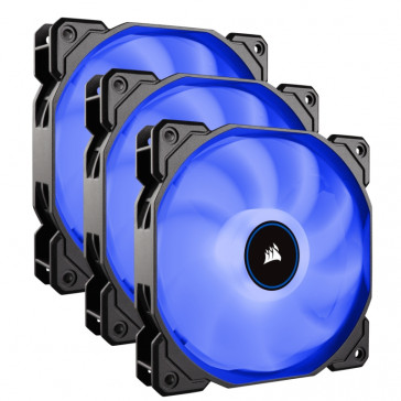 Corsair AF Series, AF120 LED (2018), Blue, 120mm, TriplePack, 3er Pack [CO-9050084-WW]