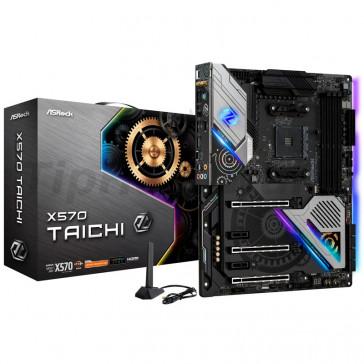 Asrock X570 Taichi (AMD AM4) DDR4 X570 Chipset ATX Motherboard [90-MXBA80-A0UAYZ]