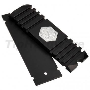 Bitspower M.2 SSD Heatsink - Black [BP-HDM2HSAV-BK]