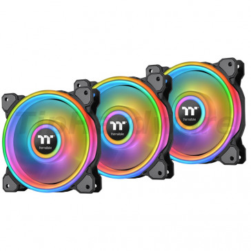 Thermaltake Riing Quad 14 RGB Radiator Fan TT Premium Edition 3 Pack [CL-F089-PL14SW-A]