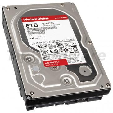 WD Red Plus NAS 8 TB SATA 6 Gb/s [WD80EFBX]