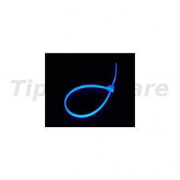 Bitspower Cable strap Set 20 ks 120mm - UV blue
