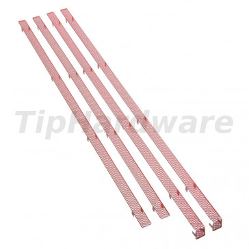 BitFenix Mesh-Stripes pro Shinobi XL Big-Tower - red