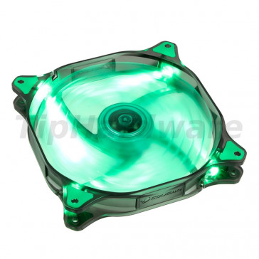 Cougar LED D12HB-G, green LED - 120mm