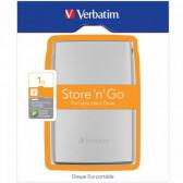 Verbatim Store n Go USB 3.0 1TB stříbrná