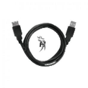Kabel USB 2.0 prodlužovací 3m černý