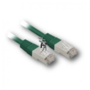 Patch kabel RJ45 Cat.5e S/FTP 2m zelený