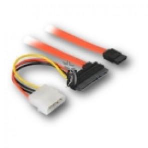 Kabel SATA + Power 0,50m