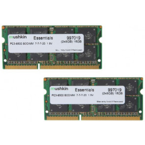 Mushkin SO-DIMM 16GB DDR3-1066 Kit Essentials-Serie