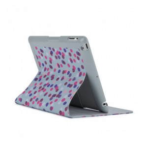 Speck iPad3 FitFolio (Sprinkle Twinkle Grey/Pink)