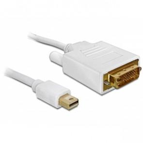 Mini-DisplayPort na DVI Kabel 1m