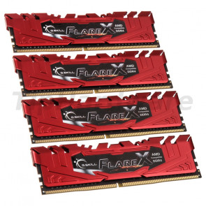G.Skill DIMM 64GB DDR4-2400 Quad-Kit [F4-2400C15Q-64GFXR]