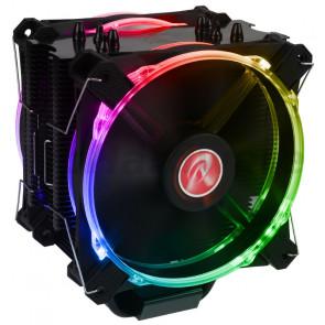Raijintek Leto Pro black, RGB-LED - 2x120mm [0R100072]
