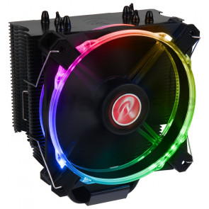 Raijintek Leto black, RGB-LED - 120mm [0R100075]