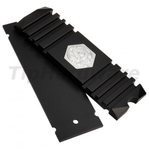 Bitspower M.2 SSD Heatsink - Black [BP-HDM2HSAV-BK]