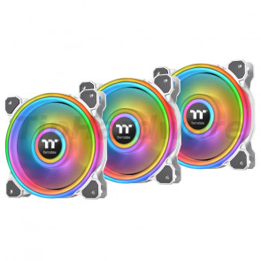 Thermaltake Riing Quad 12 RGB Radiator Fan TT Premium Edition 3 Pack [CL-F100-PL12SW-A]