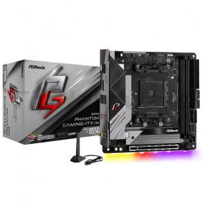 ASRock B550 Phantom Gaming-ITX/ax [90-MXBD40-A0UAYZ]