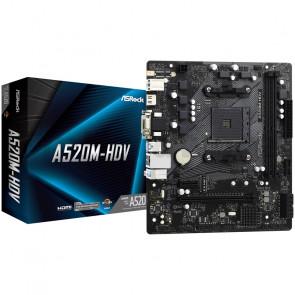 ASRock A520M-HDV [90-MXBE50-A0UAYZ]