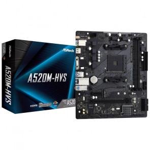 ASRock A520M-HVS [90-MXBE60-A0UAYZ]