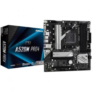 ASRock A520M PRO4 [90-MXBDU0-A0UAYZ]