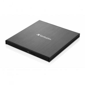 Verbatim Slimline CD/DVD ReWriter USB-C [43886]