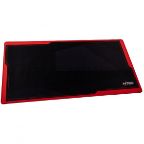 Nitro Concepts Deskmat DM12, 1200 x 600 mm, black/red [NC-GP-MP-004]