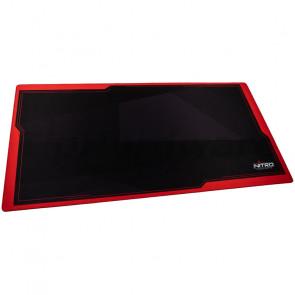 Nitro Concepts Deskmat DM16, 1600 x 800 mm, black/red [NC-GP-MP-006]
