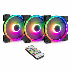 Inter-Tech Argus RGB-Fan Set RS-14 140x140x25 [88885536]