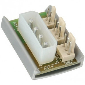InLine FAN Power Adapter Platine - 4Pin Molex