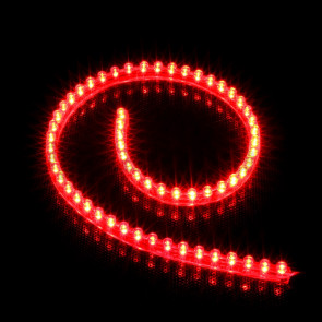 Lamptron FlexLight Standard - 60 LEDs - red