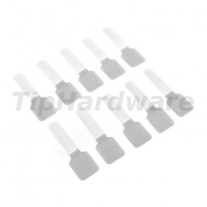 LABEL THE CABLE Wall 10ks Set - white