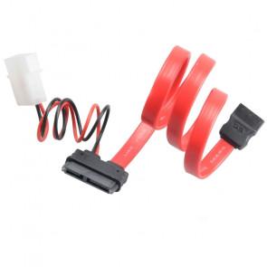 Akasa 40cm SATA cable f/ slimline opticals