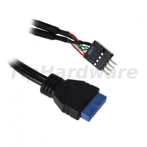 InLine 33446I cable interface/gender adapter