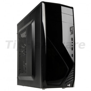 Aerocool CS-1102 Midi-Tower - black