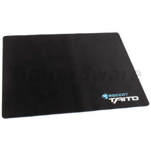 ROCCAT Taito 2017 Shiny Black Gaming Mousepad, Mid-Size - 3mm